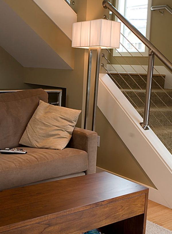 Modern Handrail Designs That Make The Staircase Stand Out | Modern Metal Stair Railings Interior | Black Metal | Simple 2Nd Floor Railing Wood Stairs Iron Railing Design | Stair Heavy | Overlapping | Aluminum