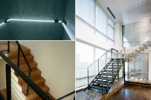 Modern Handrail Designs That Make The Staircase Stand Out | Tubular Stair Railings Design | Mid Century Modern | Simple | Home Tower | Welded | Creative
