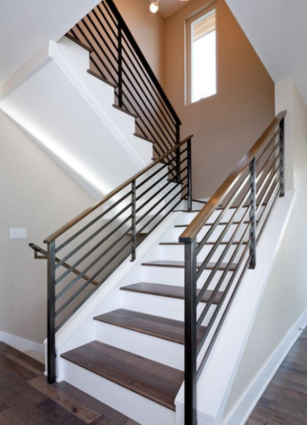 Modern Handrail Designs That Make The Staircase Stand Out | Best Railing Design For Stairs | Balusters | Modern Stair | Cable Railing | Staircase Remodel | Glass Railing