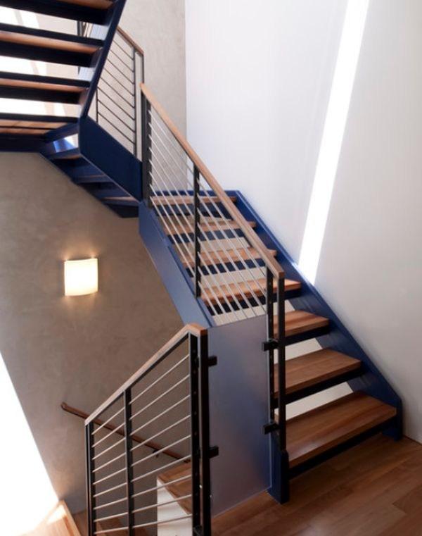 Modern Handrail Designs That Make The Staircase Stand Out   Stair Railing Design Modern   Exterior Irregular Stair   Luxury   Round   Interior   Handrail