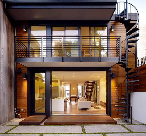 How To Design Exterior Stairs   Metal Staircases And Balconies