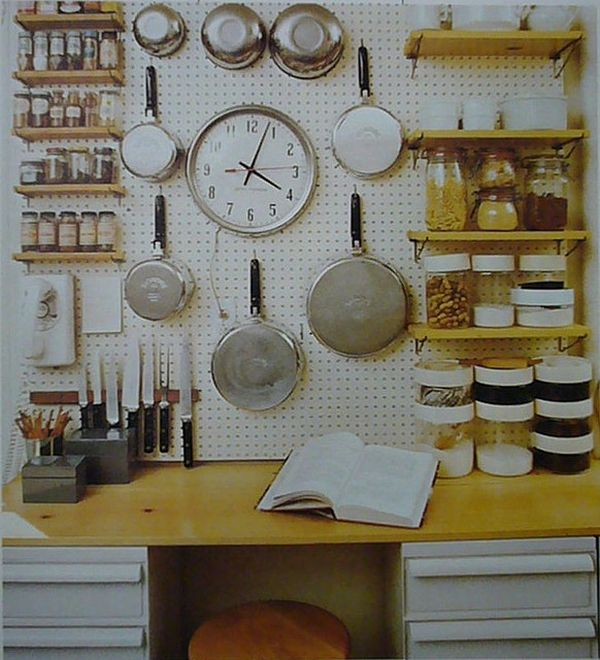 Contemporary Kitchen Open Shelving