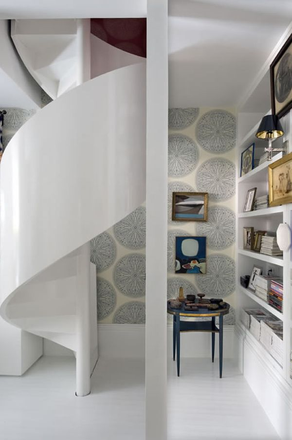 Saving Space With Graceful Spiral Staircases