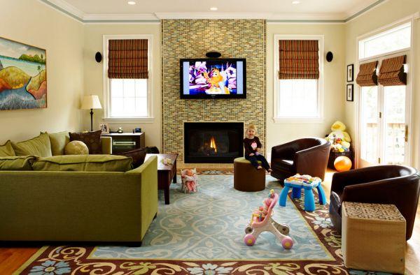Kid Friendly Living Room Decorating Ideas