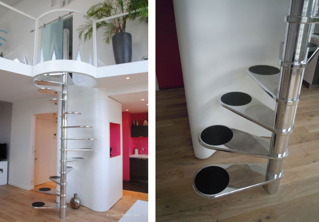 Compact Stairs – The First Step Towards A Happy Tiny Home | Small Stairs For Small Spaces | Design | Small Apartment | Small Living Area | Compact | Tiny House