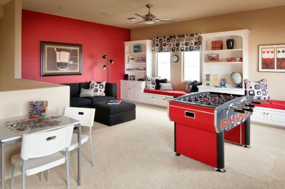 Game And Entertainment Rooms Featuring Witty Design Ideas Multiple Functions In One Space