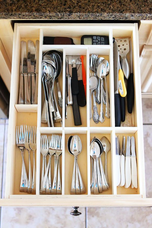 How Organize Your Kitchen Drawers