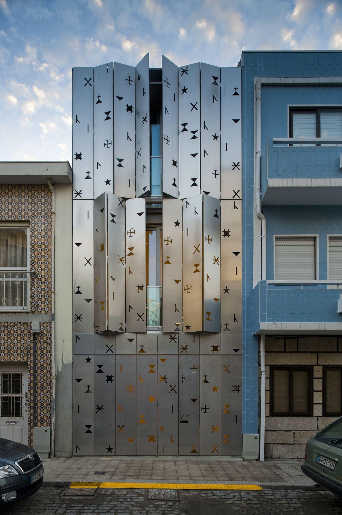 Best Kitchen Gallery: 35 Cool Building Facades Featuring Unconventional Design Strategies of Home Facade Designs  on rachelxblog.com