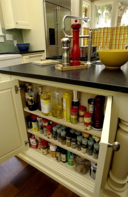 65 Ingenious Kitchen Organization Tips And Storage Ideas Spice storage