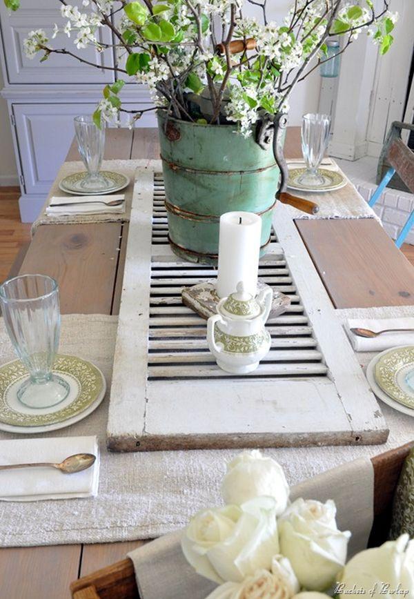 Shabby Chic End Table Ideas