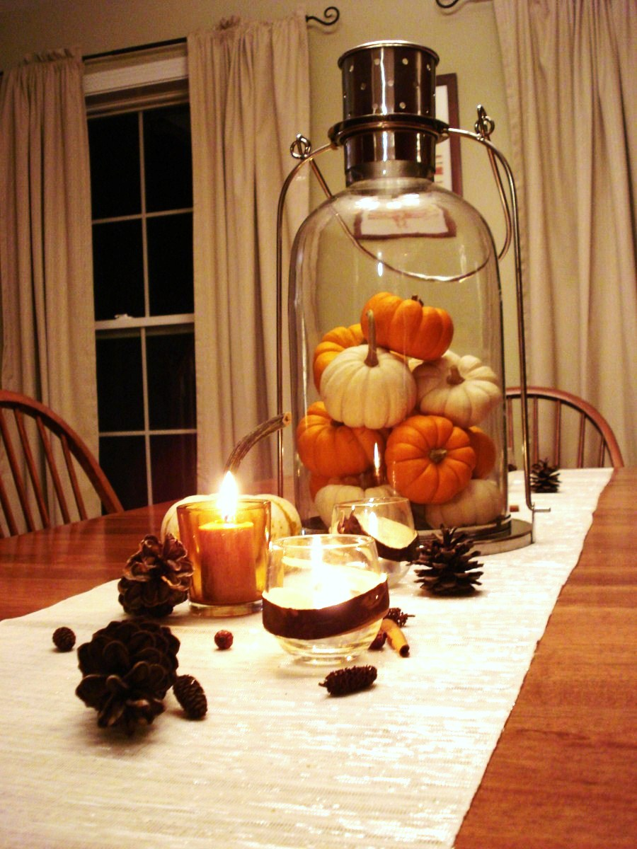 30 Festive Fall Table Decor Ideas  Lantern Effects