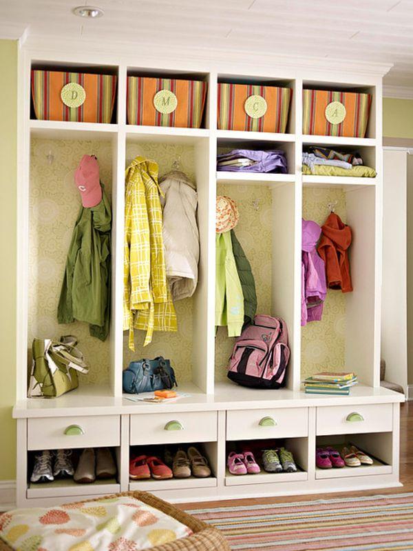 Coat Rack Shoe Storage Bench