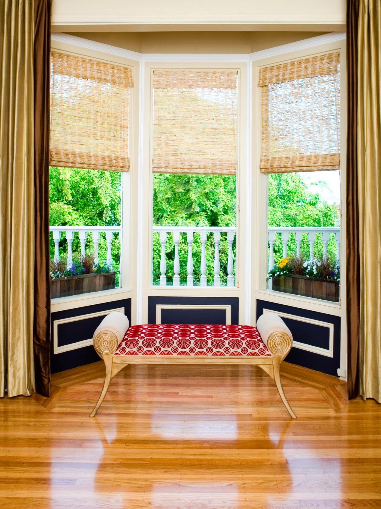 Modern Bay Window Styling Ideas 7  Victorian Flavor