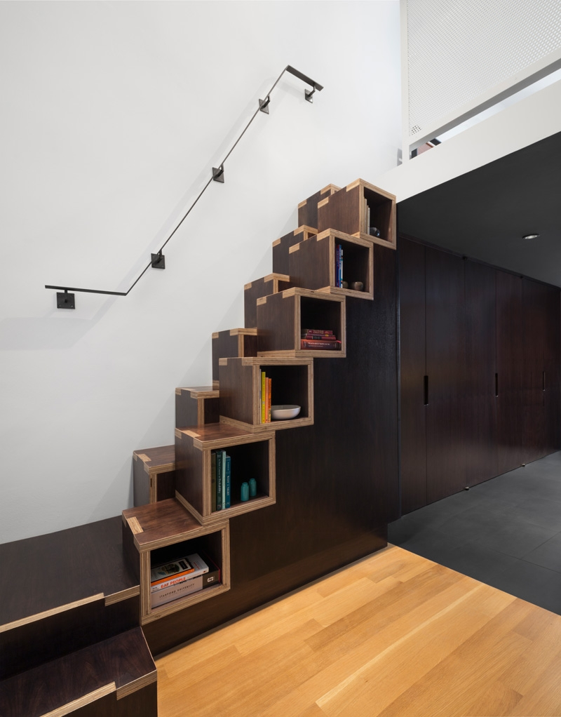Alternating Tread Stairs Change The Perspective With New Designs   Wood Alternating Tread Stair   Loft Stairs   Thebestwoodfurniture   Stair Railing   Staircase Design   Tread Depth