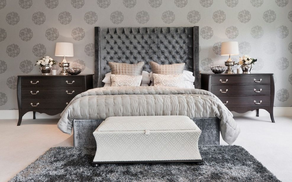 20 Ways Bedroom Wallpaper Can Transform the Space Floral bedroom wallpaper design