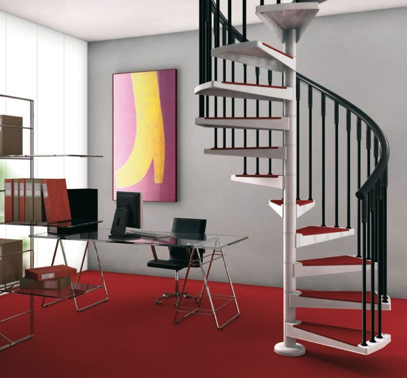 40 Breathtaking Spiral Staircases To Dream About Having In Your Home | Painting Metal Spiral Staircase | Handrail | Iron | Stair Treads | Steel | Staircase Kit