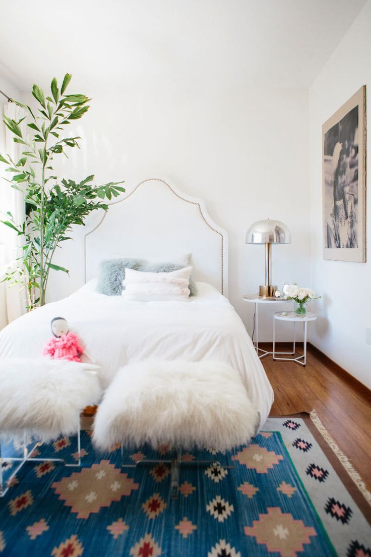 20 Dreamy Boho Room Decor Ideas Faux Fur