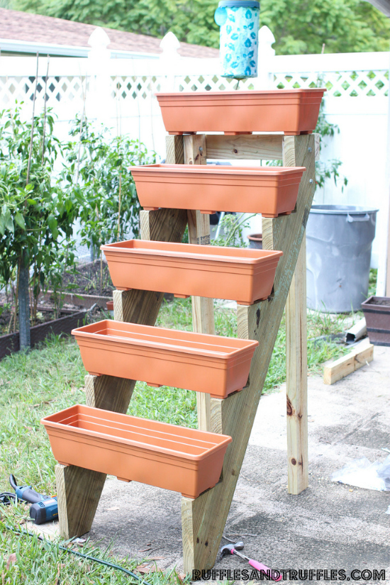 Above Ground Planter Box Plans