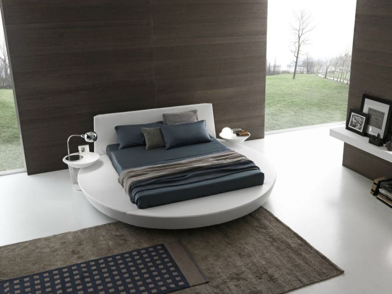 Kick It Up A Notch   Decorating With Round Beds round size bedroom design