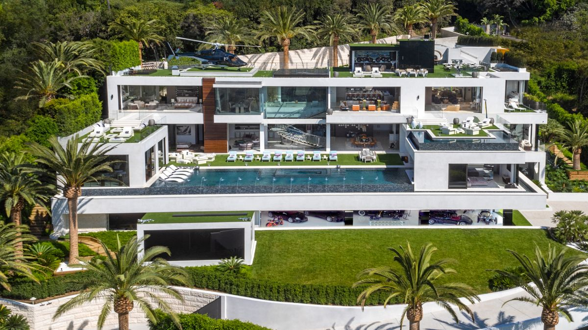 Best Kitchen Gallery: 25 Of The Most Beautiful California Houses And Their Stories of Beverly Hills California Homes on rachelxblog.com