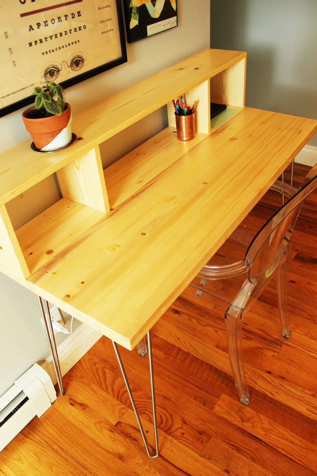 Desk Long Narrow Office