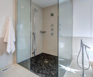 Shower Floor Ideas That Reveal The Best Materials For The Job Marble Shower Floors