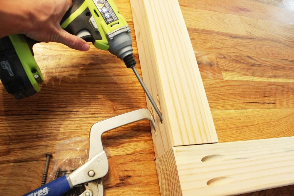 Diy Stair Handrail With Industrial Pipes And Wood | Attaching Handrail To Post | Spindles | Newel Post | Stair Handrail | Baluster | Rim Joist