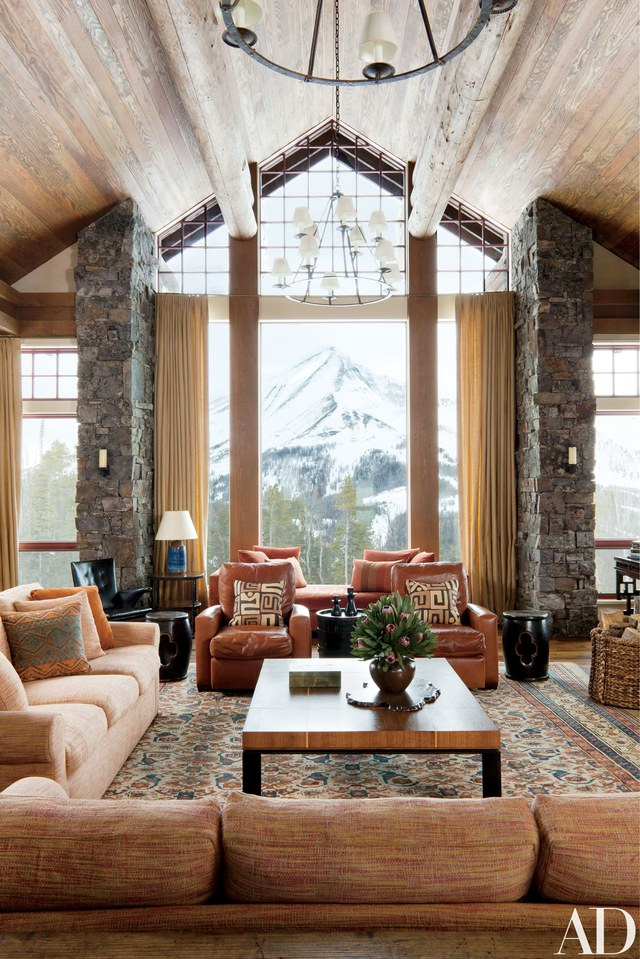 40 Rustic Living Room Ideas To Fashion Your Revamp Around 2  With Natural Light  View in gallery  This rustic living room