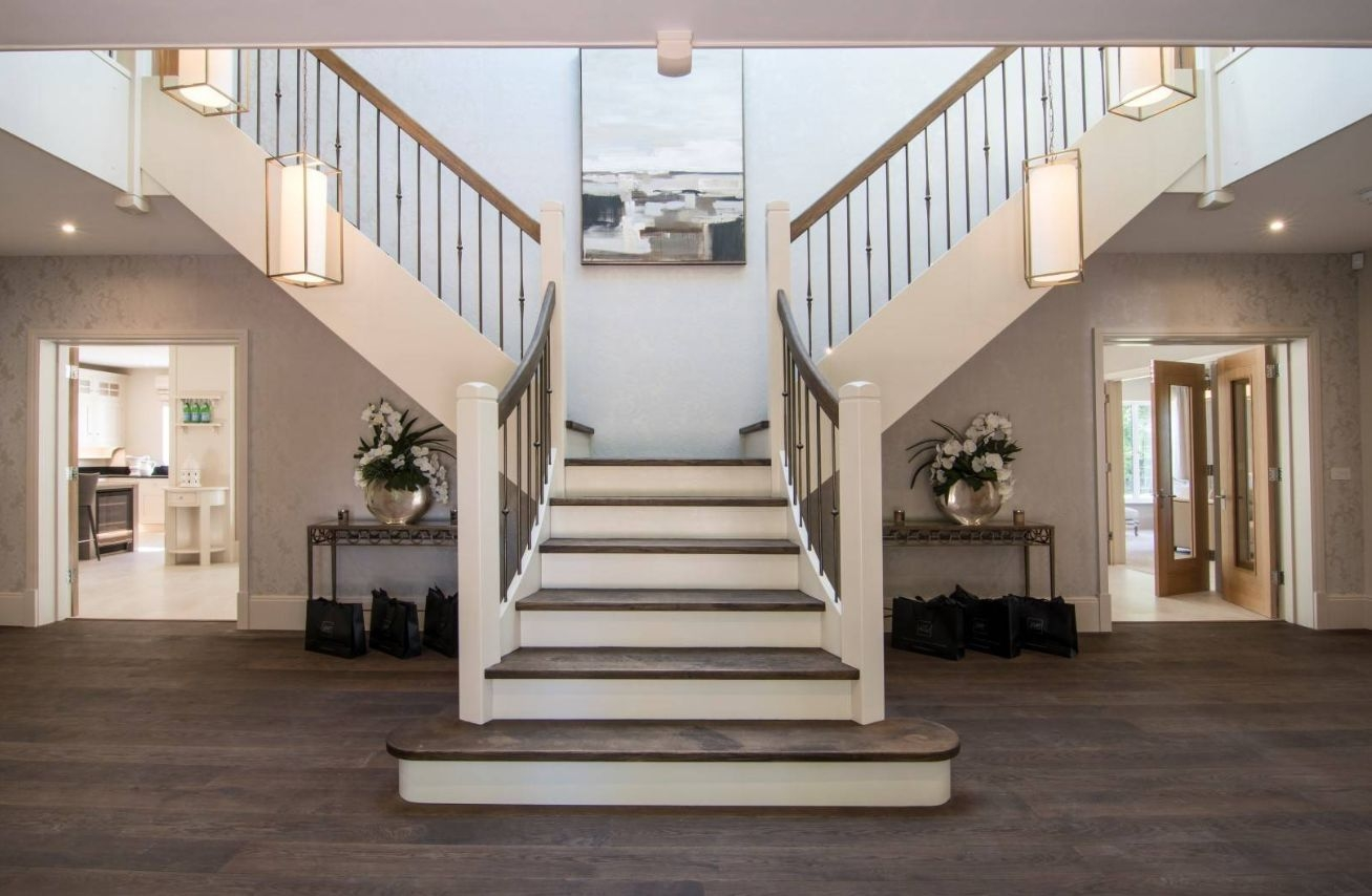 The 13 Types Of Staircases That You Need To Know | Double L Shaped Staircase Design | Limited Space | Space Saving Stair | Inner Staircase | Traditional | 90 Degree