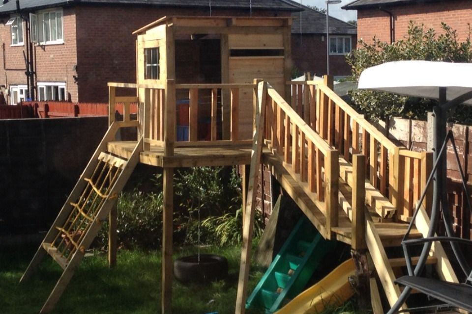 Easy Playhouse Plans For Fun And Creative Parents