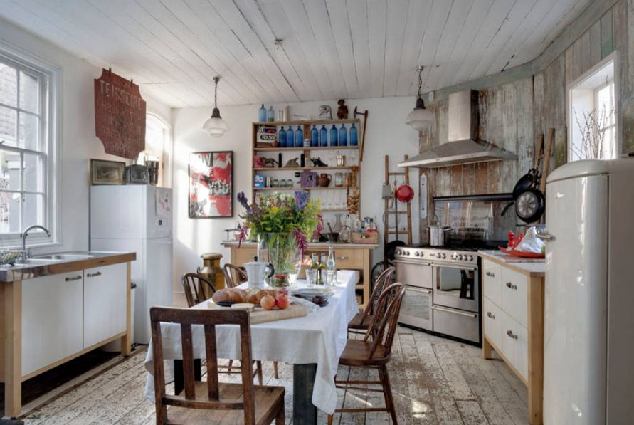 How To Design A Shabby Chic Kitchen With A Subtle Modern Vibe