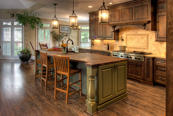 Design French Country Kitchen Decorating Ideas
