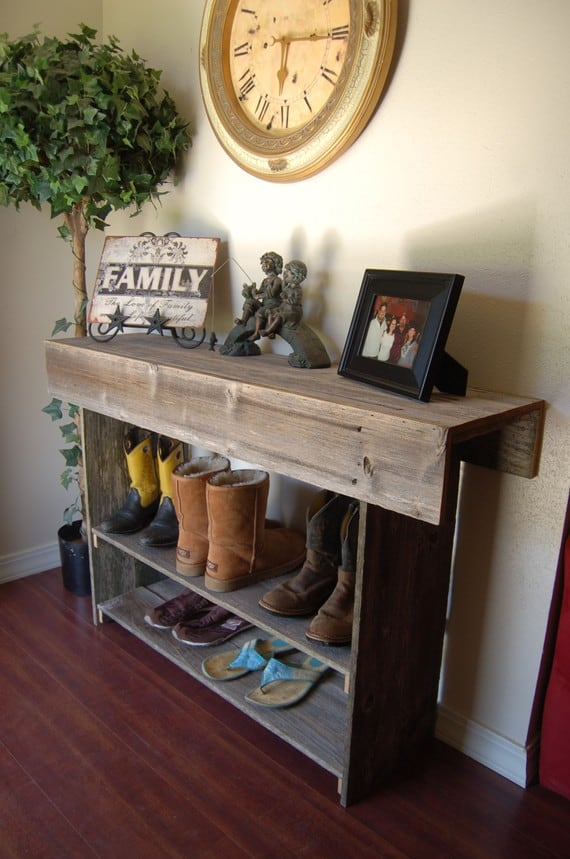 49 Insanely Smart Reclaimed Wood Furniture And Decor Projects