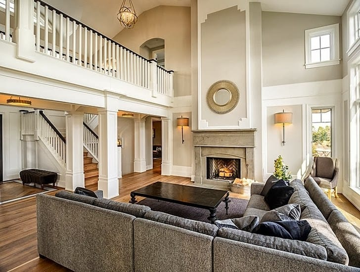 Delight Your Senses With 16 Of The Best Modern Mansions Designs     grey and beige classical interior design