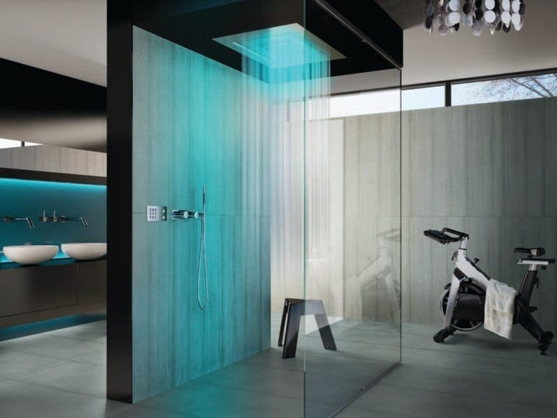 19 Of The Coolest Futuristic Shower Designs To Follow