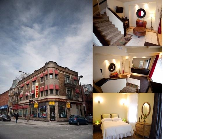 HOTEL STAY CENTRE VILLE   Montreal QC 910 Maisonneuve East H2L1Z1 Hotel Stay Centre Ville photo collage