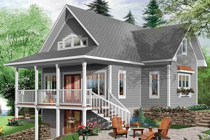 Lake House Plans   Lakefront Home Floor Plans Plan