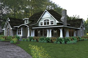 Wrap Around Porch House Plans from HomePlans com Plan