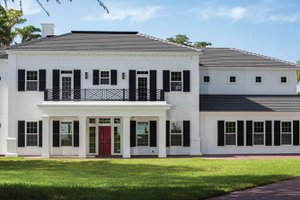 Colonial Style House Plans   Traditional Home Plans Plan