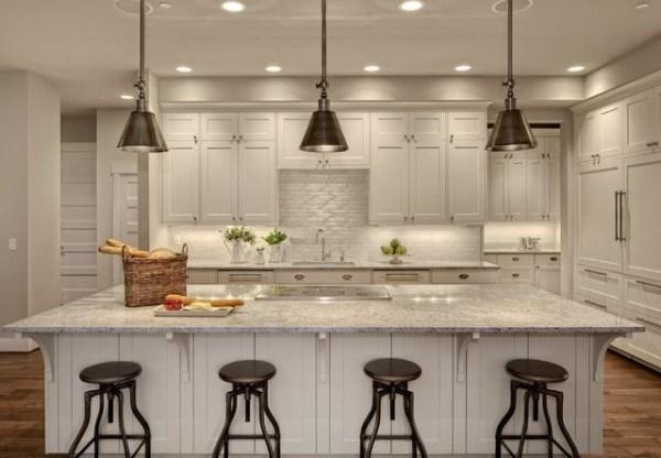 installing pendant lights over kitchen island # 32