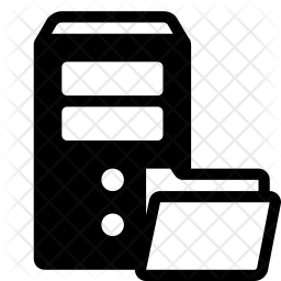 Ftp Server Icon Of Glyph Style Available In Svg Png