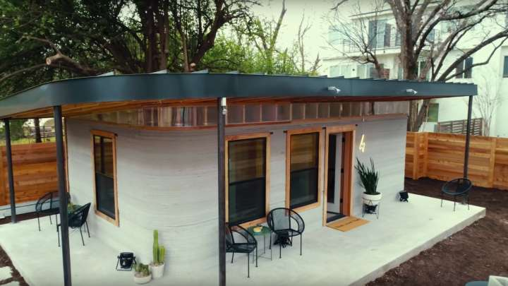 A Robot Can Build This 10 000 House Within 12 Hours