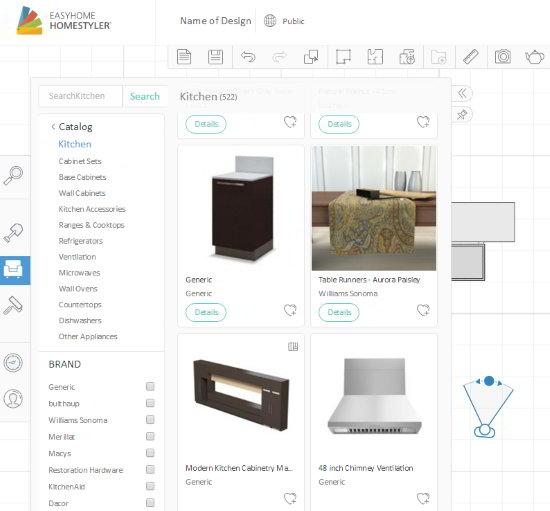Free Tool Kitchen Design Online Software