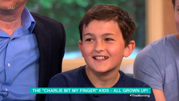 Charlie Bit My Finger Now