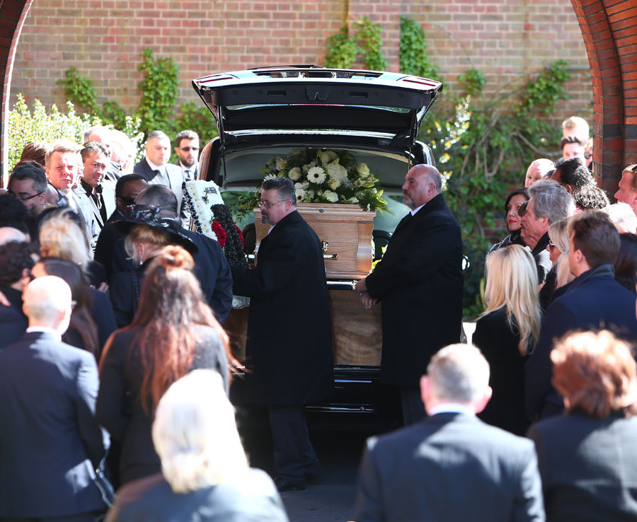 Standing Own Funeral