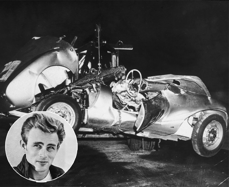 James Dean Death Injuries