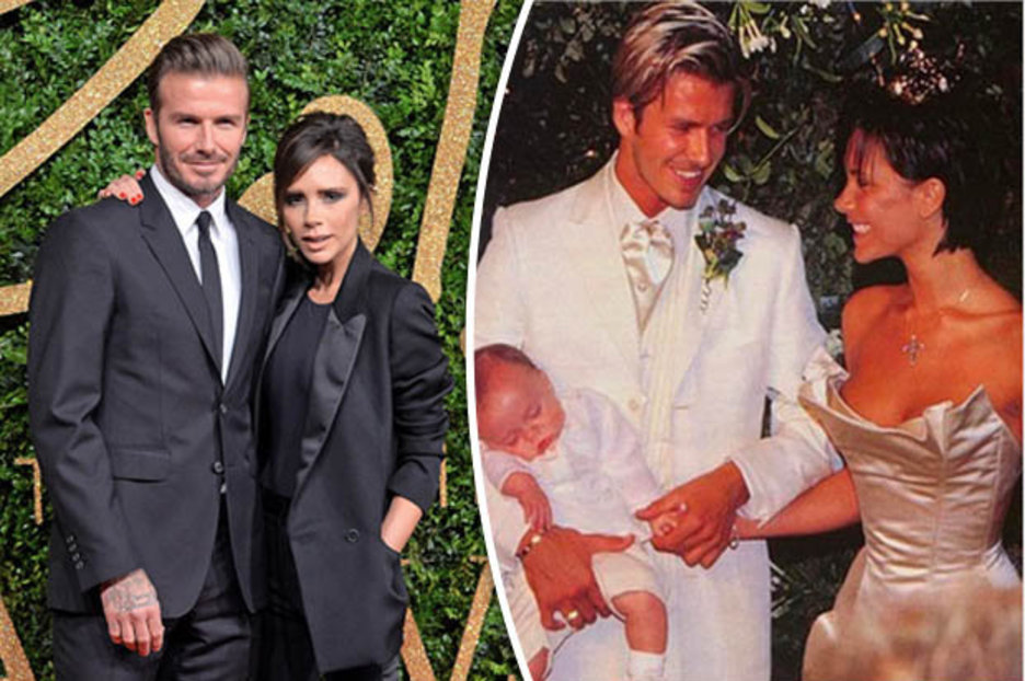 David Beckham posts tribute to wife Victoria marking 18th ...