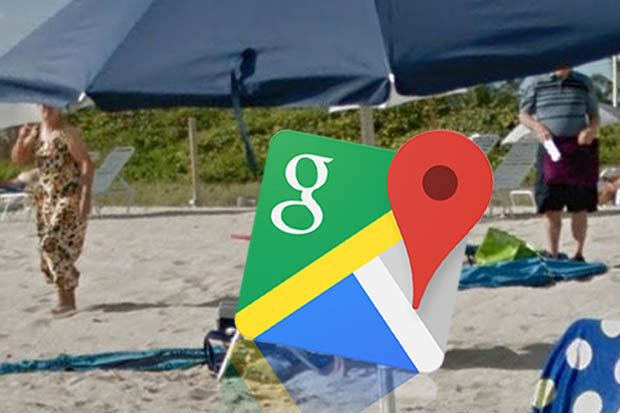 Google Maps street view spots something VERY naughty in ...