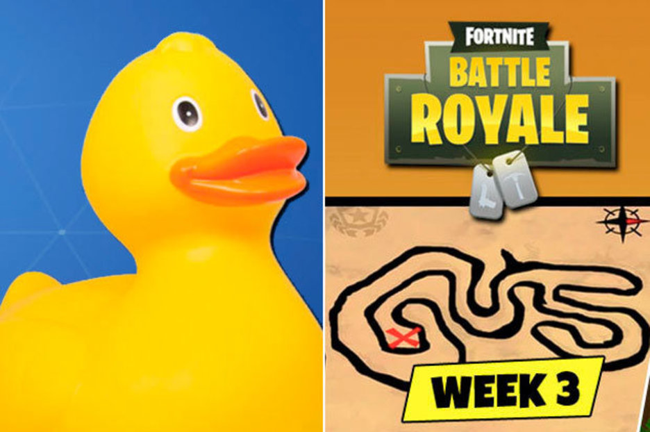 Ducks Weeks 4 Rubber 3 S04 Fortnite