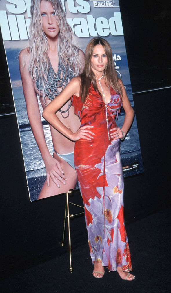 Melania Trump young: Photos show stunning Donald wife at ...